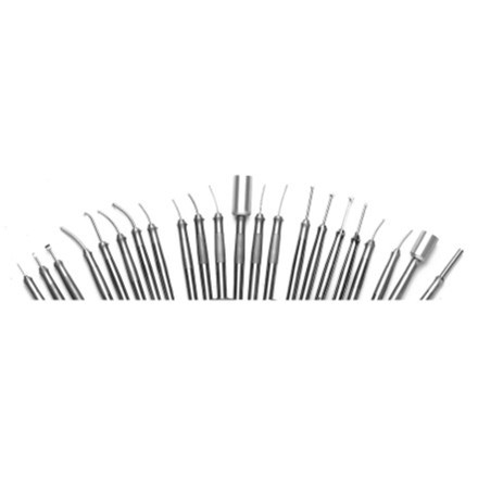 Various Frigitronics CE-2000 Cryosurgery Probes fanned out
