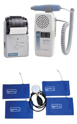 Summit handheld doppler, LifeDop 250 ABI, 4 Cuffs and Aneroid