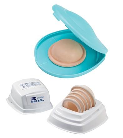 Milex Omniflex Style Diaphragms in packaging
